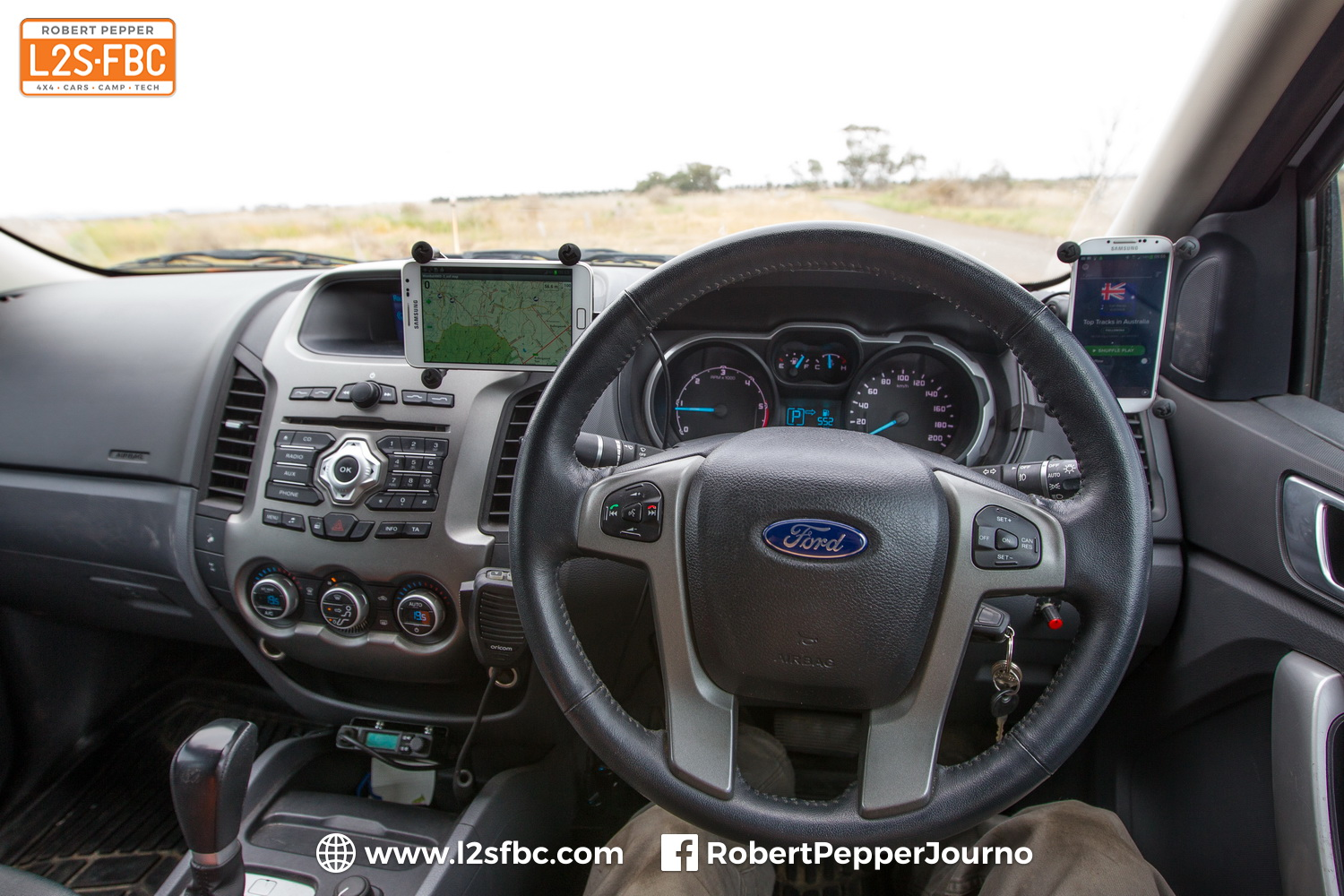 Mounting a GPS Receiver and Accessories in the vehicle