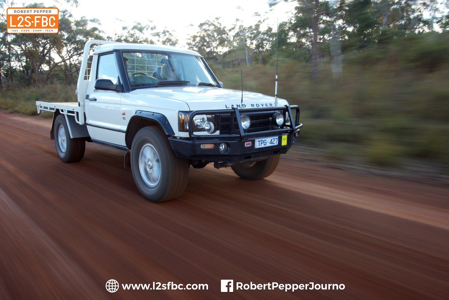 Land Rover Discovery 2 ute conversion
