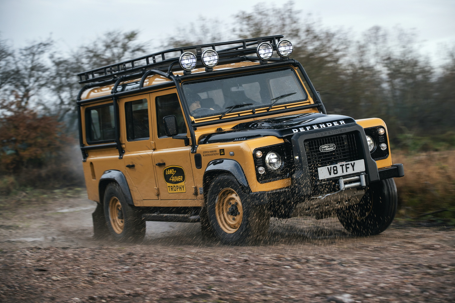 Land Rover will sell you a new-old Defender V8 for $350,000