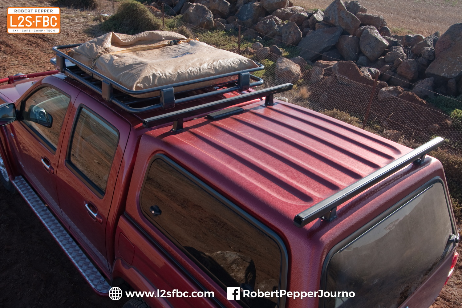 How much can I carry on my roofrack?