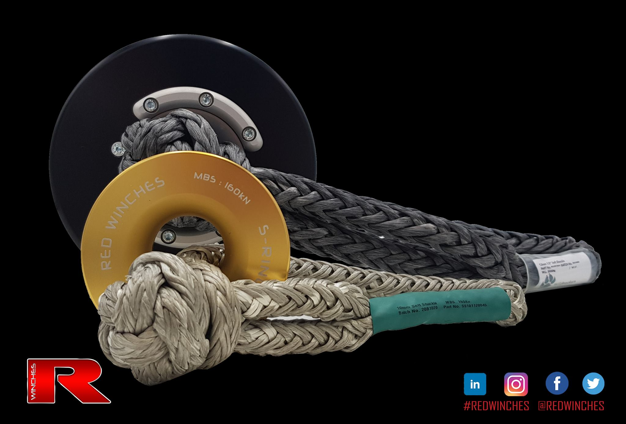RED Winches release the Recovery Ring, a snatch ring with bearings