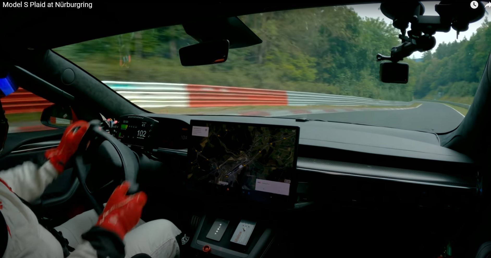 Tesla Plaid sets an EV record at the Nurburgring – compared to Porsche Taycan and BMW M5